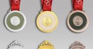 Der olympische Ewigen-Medaillenspiegel der HTT von 2003 bis 2015