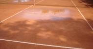 Regen am 3. Spieltag sorgt neuerlich für Probleme