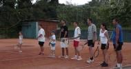 Vom Apres-Tennis ins Unfall-Krankenhaus