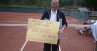 Johann Krammer erhält Golden-Slam-Card 2007