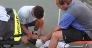 Martin Zehetner mit Bänderverletzung im HTT-US-Open-Semifinale
