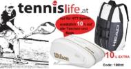 Tennislife.at – Tolle Angebote und ein tägliches Gewinnspiel