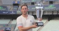 Patrick Mayer trägt sich als erster Deutscher in die HTT-Kitzbühel-Siegerliste ein